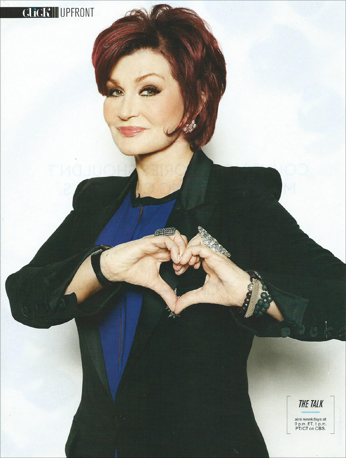 Sharon Osbourne - CBS Watch! Magazine