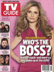 Kyra Sedgwick - TV Guide Magazine