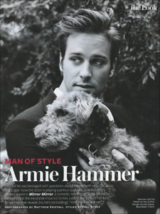 Armie Hammer - InStyle Magazine Man of Style