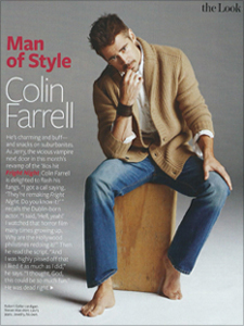 Colin Farrell - InStyle Magazine Man of Style