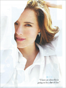Tea Leoni - CBS Watch! Magazine