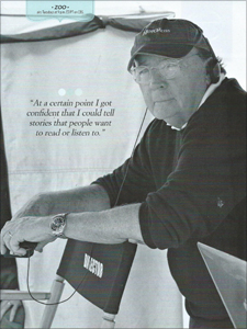 James Patterson - CBS Watch! Magazine